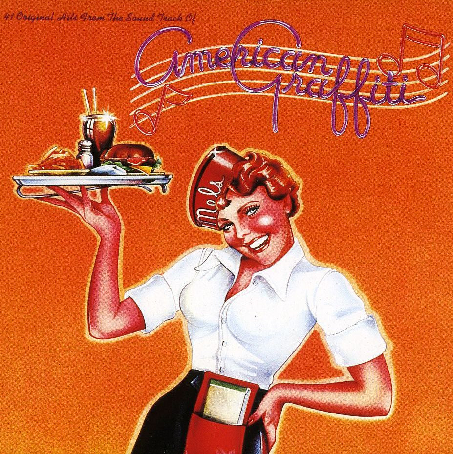 American Graffiti - Original Soundtrack 2 lps - RECORDS ONLY - NO COVER ( Clearance Vinyl )