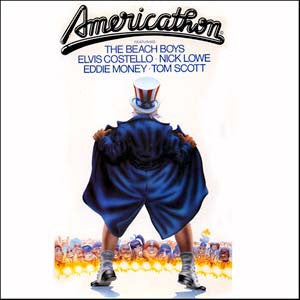 Americathon - 1979 Soundtrack -Beach Boys,Eddie Money ,Elvis Costello (Vinyl)
