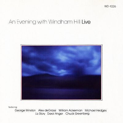 An Evening With Windham Hill Live -1983  New Age, Acoustic, Fusion, Contemporary Jazz (vinyl)