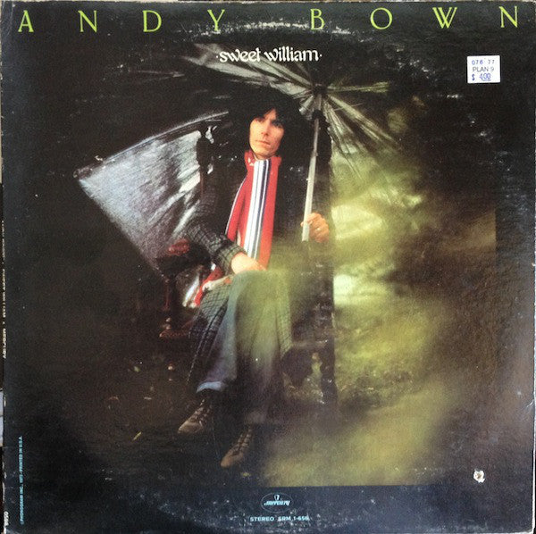 Andy Bown ‎– Sweet William - 1973 - Classic Rock (vinyl)
