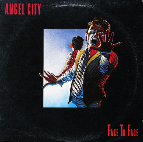 Angel City ‎– Face To Face -1980- Hard Rock (Vinyl)