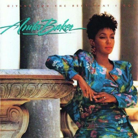 Anita Baker ‎– Giving You The Best That I Got -1988- Smooth Jazz, Rhythm & Blues (vinyl)