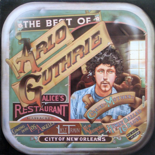 Arlo Guthrie ‎– The Best Of Arlo Guthrie - 1977- Folk Rock (vinyl)