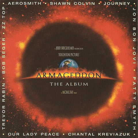 Armageddon (The Album) -1998- Music Cd