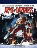 Army of Darkness (Screwhead Edition) [Blu-ray] Mint used