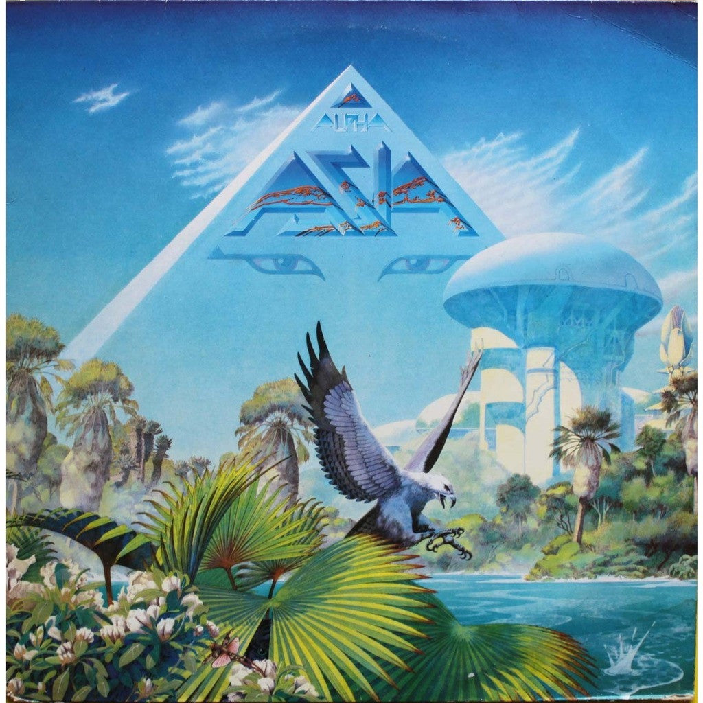Asia  ‎– Alpha - 1983 Prog rock (Clearance Vinyl) * Overstocked