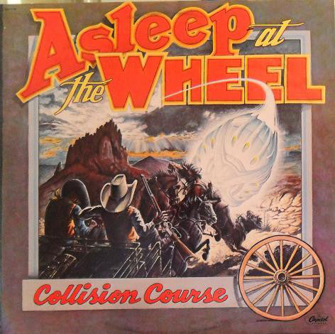 Asleep At The Wheel ‎– Collision Course - Jazz folk,  Country, Swing (vinyl)