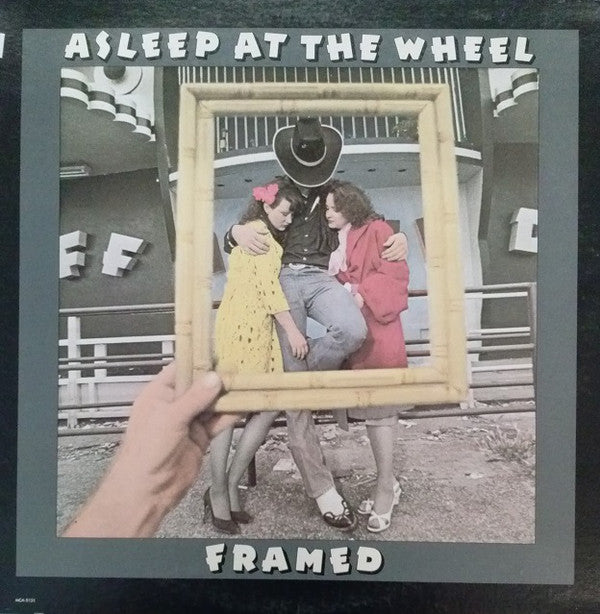 Asleep At The Wheel ‎– Framed- 1980- Folk  Country, Swing (vinyl)