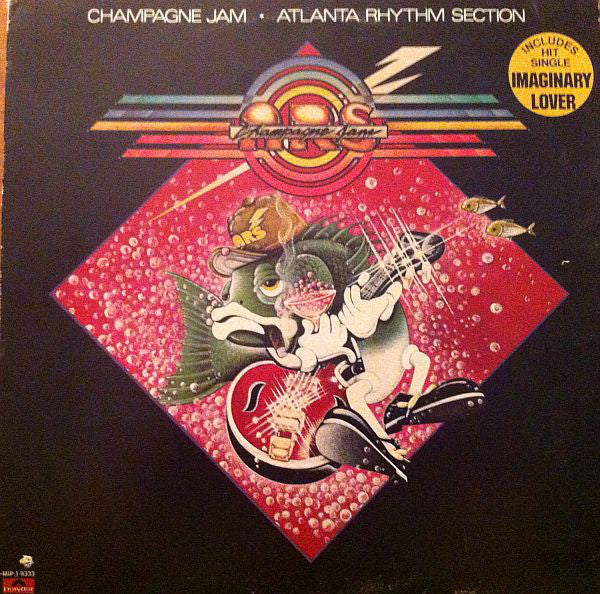 Atlanta Rhythm Section ‎– Champagne Jam -1978 - Southern Rock (clearance vinyl) NO COVER