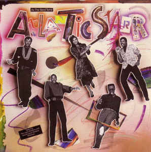 Atlantic Starr ‎– As The Band Turns - 1985- Funk, Soul, Disco (Clearance Vinyl) marks