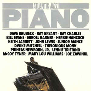 Atlantic Jazz Piano -1986 (2 lps) Bop, Swing, Smooth Jazz, Cool Jazz, Fusion (vinyl)