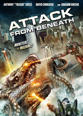 Attack From Beneath [Blu-ray] Mint Used