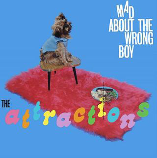 Attractions ,The ‎– Mad About The Wrong Boy - 1980 pop (vinyl)