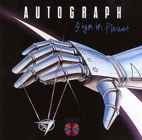 Autograph ~ Sign In Please -1984 Hard Rock (vinyl) near  mint copy!