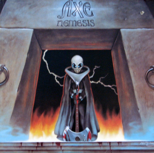 Axe ‎– Nemesis -1983  Hard Rock (vinyl)