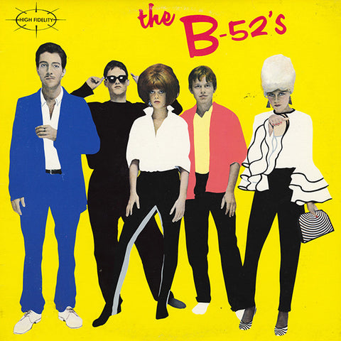 B-52's , The  ‎– The B-52's - 1979 -  Alternative Rock, New Wave, Synth-pop (vinyl)