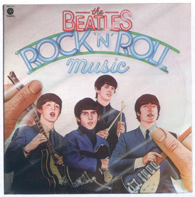 Beatles, The - Rock N Roll Music 2 LPs - 1976- Rock & Roll, Pop Rock, Classic Rock (Vinyl)