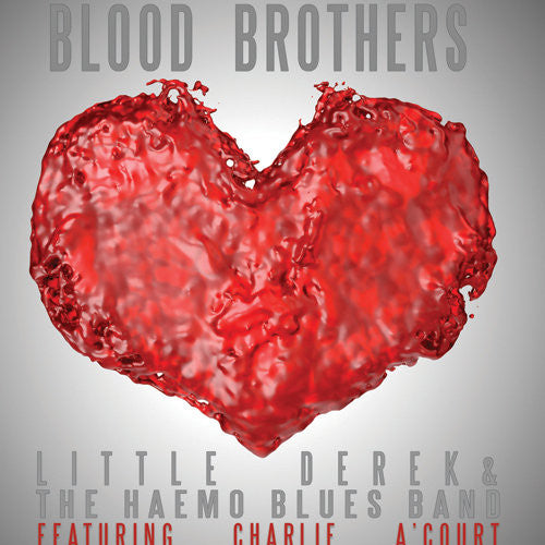 BLOOD BROTHERS by Little Derek and featuring Charlie A'Court (Used CD) Signed