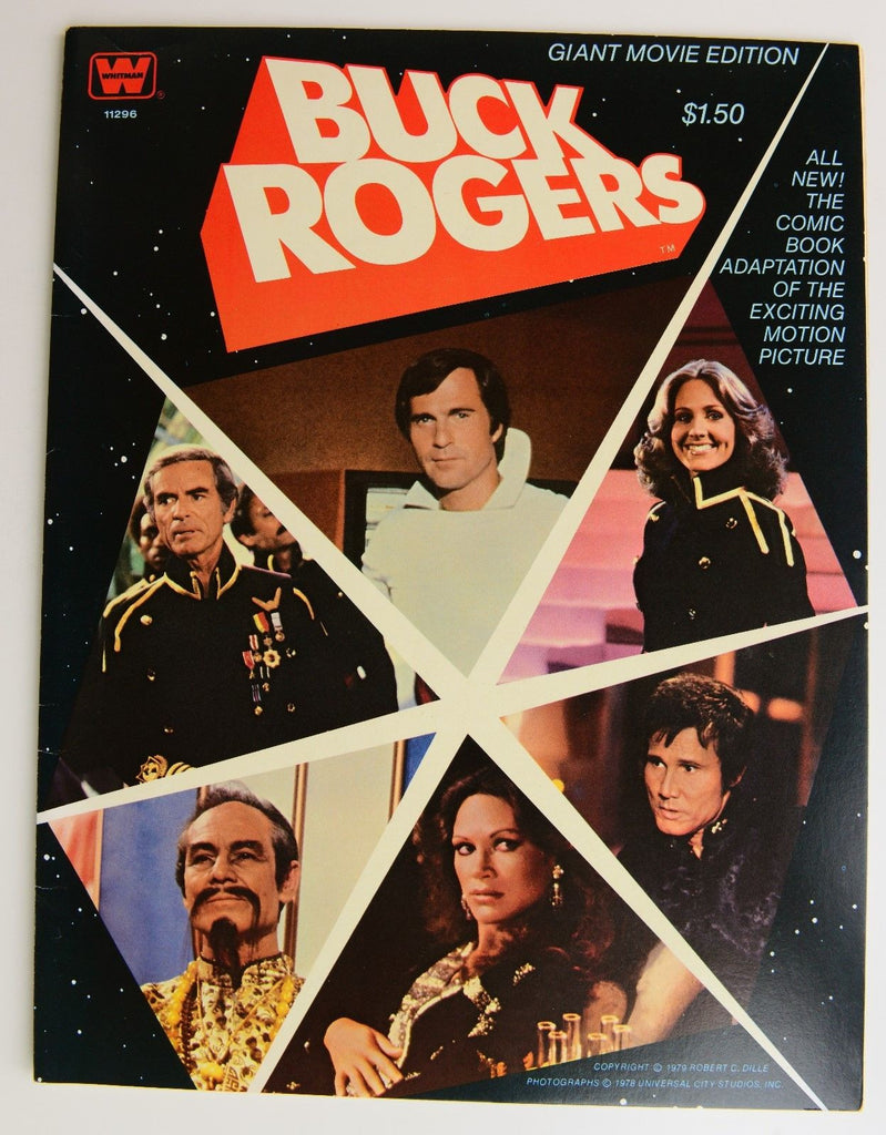 BUCK ROGERS Giant Movie Edition Comic Book-1979 - 10 X 13""