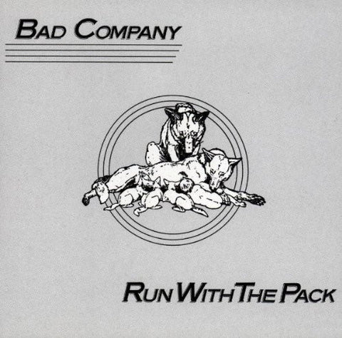 Bad Company ‎– Run With The Pack 1976 Hard Rock (clearance vinyl)