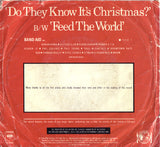 "Band Aid ‎– Do They Know It's Christmas? - 1984-Pop Rock, Synth-pop -Vinyl, 7"", 45 RPM, Single"