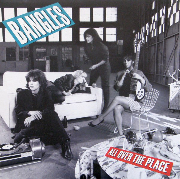 Bangles ‎– All Over The Place - 1984-Pop Rock (vinyl)