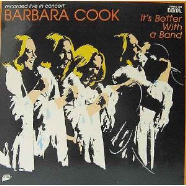 Barbara Cook ‎– It's Better With A Band -1981-  Big Band, Easy Listening Jazz (vinyl)
