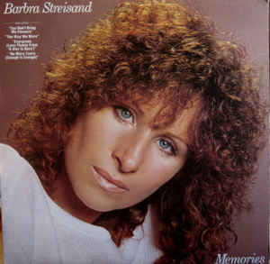 Barbra Streisand ‎– Memories - 1981- Soft Rock, Ballad, Vocal (clearance vinyl) overstocked