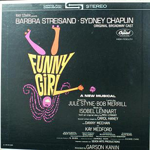 Barbra Streisand, Sydney Chaplin ‎– Funny Girl (Original Broadway Cast) - 1972- Stage & Screen, Musical (vinyl)
