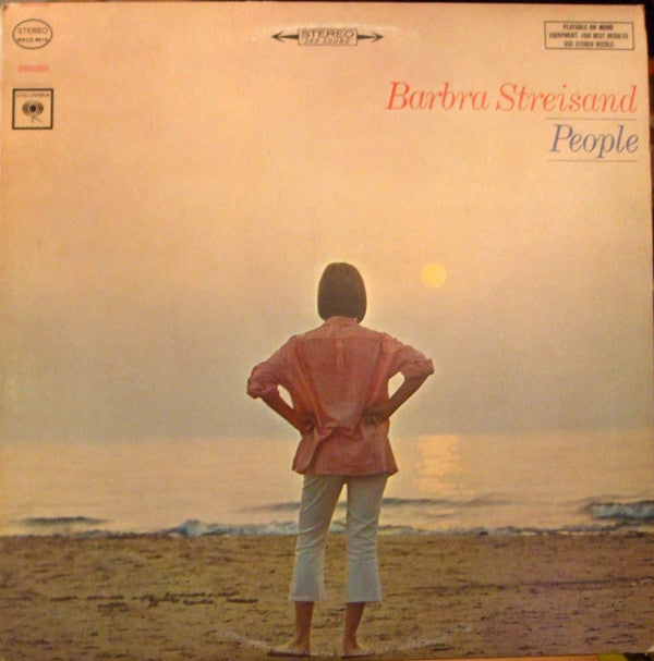 Barbra Streisand ‎– People -1964 - Vocal, Easy Listening (vinyl)