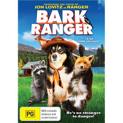 Bark Ranger 2015 dvd ( new ) Jon Levitz