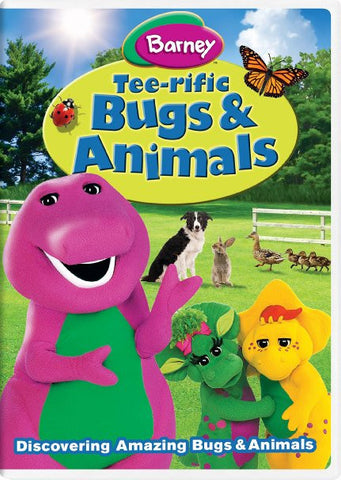 Barney: Tee-rific Bugs & Animals DVD New Sealed