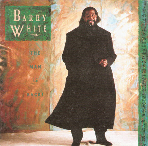 Barry White - The Man Is Back! -1980- Funk / Soul , RnB/Swing, Soul ( mint Vinyl )
