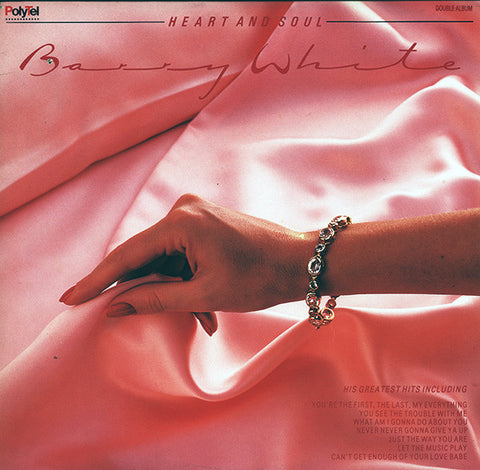 Barry White ‎– Heart And Soul - ( 2 lps )1985 Funk /Soul (vinyl)