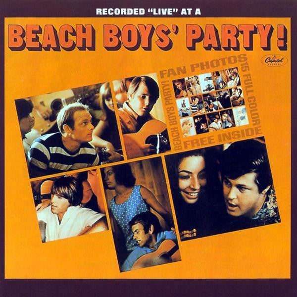 Beach Boys ‎– Beach Boys' Party! -1965-Pop Rock, Surf (Clearance Vinyl)