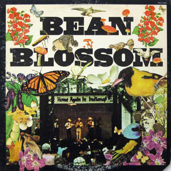 Bean Blossom -1973 - 2lps Bluegrass , Folk (Rare Vinyl) Various artists