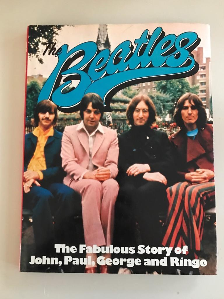 "Beatles-The Fabulous Story of John, Paul, George, Ringo"" Published 1975 (Used Hardcover)"