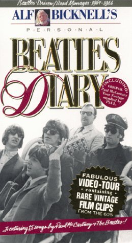 Beatles Diary - Alf Bicknell  VHS (Rare)
