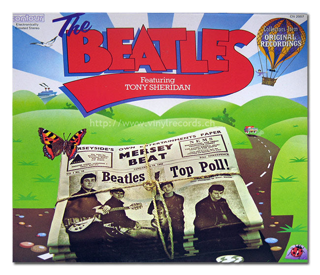 The Beatles Featuring Tony Sheridan ‎- 1976-  Rock & Roll, Rhythm & Blues, Beat -Reissue, Stereo (vinyl)
