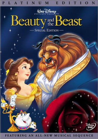 Beauty and the Beast (Disney Special Platinum Edition) DVD - Mint Used