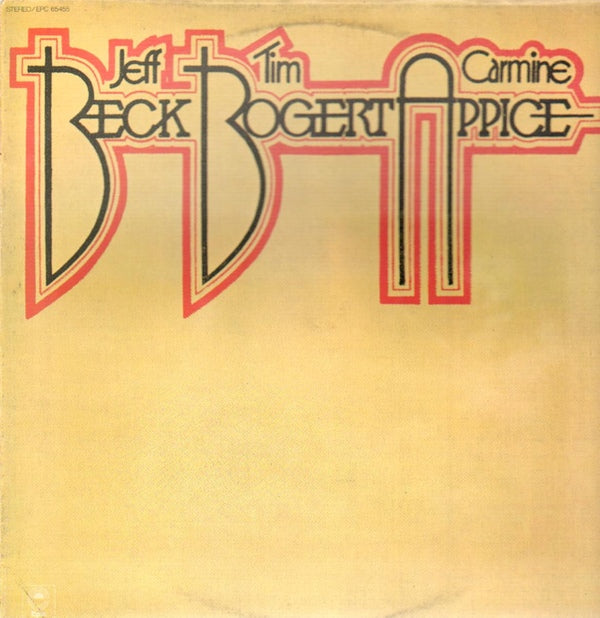 Beck, Bogert & Appice ‎– Beck, Bogert & Appice 1973 Blues Rock