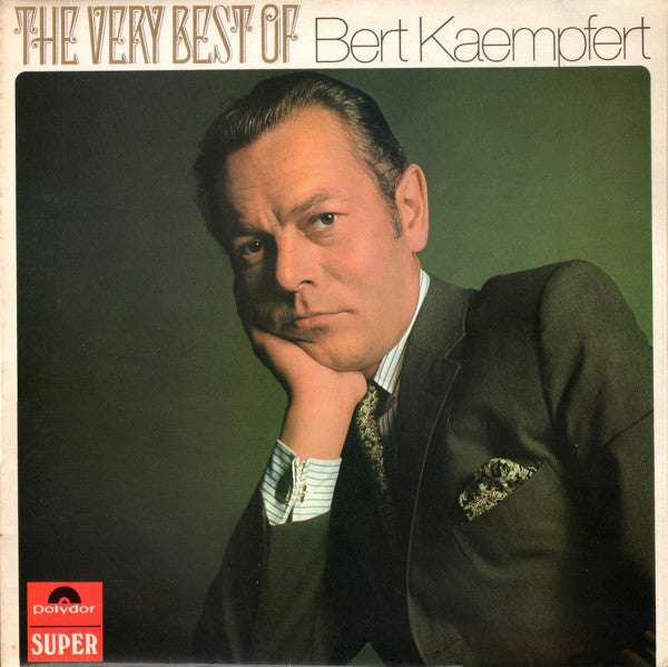 Bert Kaempfert ‎– The Very Best Of -1970 Jazz (UK Import)vinyl