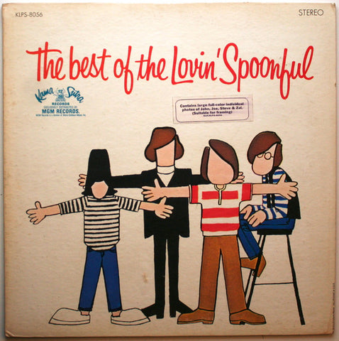 Lovin' Spoonful ‎– The Best Of The Lovin' Spoonful -1967 - Rock Pop ( Clearance vinyl ) marks