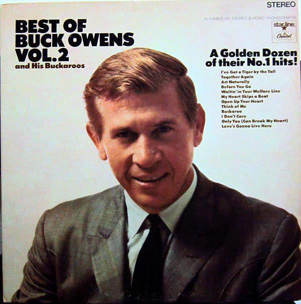 Buck Owens And His Buckaroos ‎– The Best Of Buck Owens Vol. 2 - 1968 Folk , Country (vinyl)
