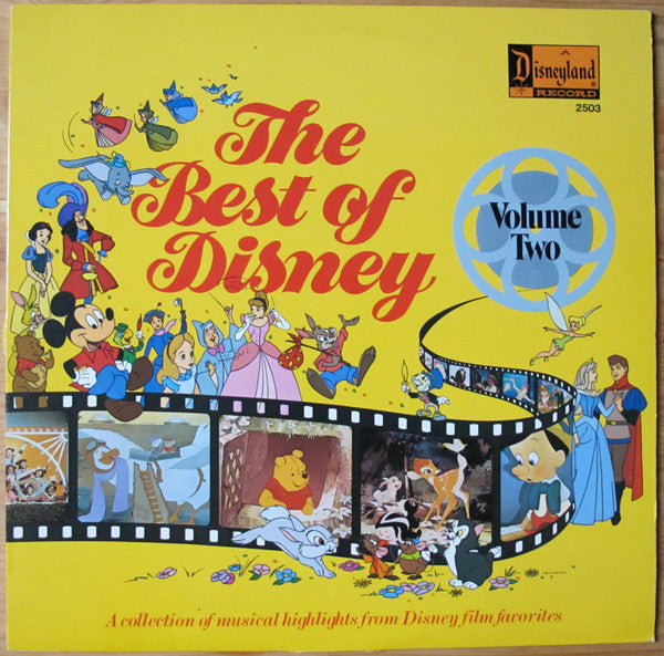 Best Of Disney Volume Two - 1978-Children's, Stage & Screen , Soundtrack, Disney (vinyl)