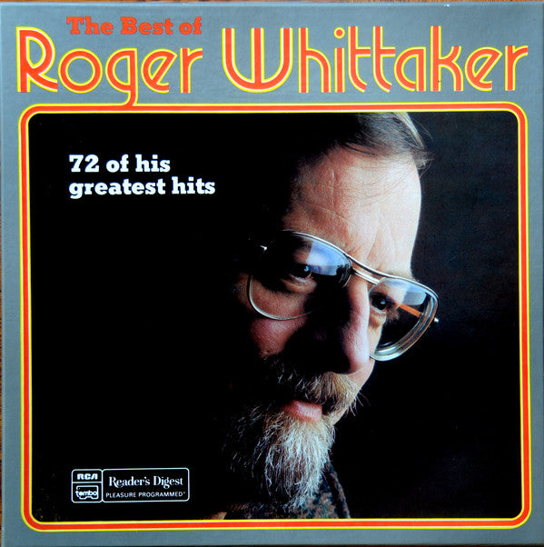 Roger Whittaker ‎– The Best Of Roger Whittaker, 72 Of His Greatest Hits - ^ LP Set , Folk, Country (Vinyl)