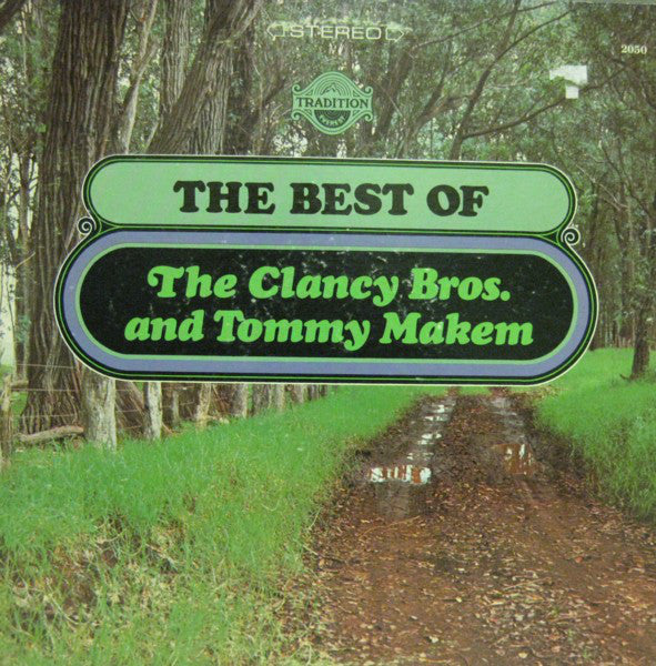 The Clancy Brothers & Tommy Makem ‎– The Best Of The Clancy Bros. And Tommy Makem - 1967- Folk, Celtic (vinyl)