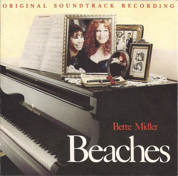 Bette Midler ‎– Beaches (Original Soundtrack Recording)-1988 Jazz, Pop, Stage & Screen (vinyl)