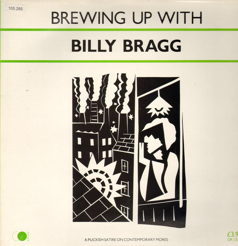 Billy Bragg ‎– Brewing Up With Billy Bragg - 1984 -  Rock (vinyl)