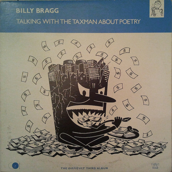 Billy Bragg ‎– Talking With The Taxman About Poetry - 1986- Folk Rock, Indie Rock (Vinyl)